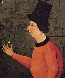 The Conjurer. By Hieronymus Bosch and/or his workshop, around 1502.