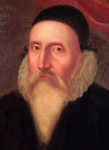 Doctor John Dee. Mathematician, astronomer, astrologer, occultist.