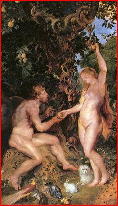 The Garden of Eden with the Fall of Man (about 1615) by Rubens and Jan Brueghel the Elder.