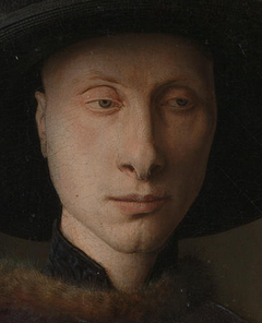 The Arnolfini Portrait, 1434, by Jan van Eyck ((c. 1390 – 9 July 1441), a Northern Renaissance artist. The painting is significant for its use of perspective and the 'fourth wall.'