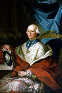 Cardinal de Louis Rene Edouard Rohan, the Prince de Rohan-Guemenee and Archbishop of Strasbourg, (25 September 1734 – 16 February 1803)